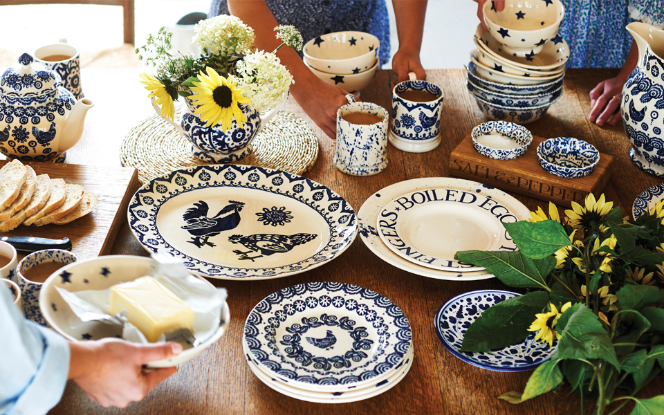 Emma Bridgewater Blues collection