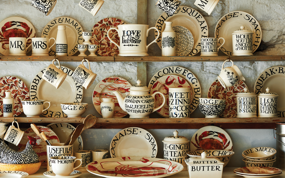 Emma Bridgewater's Black + Toast collection